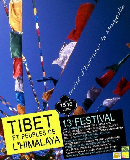 13ème Festival du Tibet et des Peuples de l'Himalaya