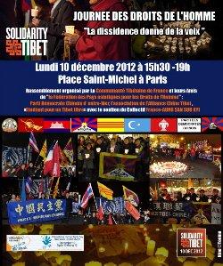 journée mondiale de solidarité avec le Tibet